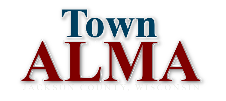Town of Alma in Jackson County Wisconsin